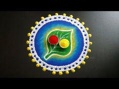 Rangoli Designs Latest, Simple Rangoli Designs Images, Small Rangoli Design, Colorful Rangoli Designs, Rangoli Designs Diwali, Beautiful Rangoli Designs, Rangoli Borders, Rangoli Border Designs, Kolam Designs