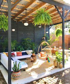 Cozy small backyard gazebo ideas for your landscaping Backyard patio furniture Backyard Gazebo, Garden Gazebo, Backyard Patio Designs, Pergola Patio, Pergola Plans, Backyard Landscaping, Pergola Kits, Pergola Ideas, Cozy Backyard