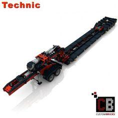 CUSTOMBRICKS.de - LEGO Technic model Custombricks MOC Instruction Lego Factory, Truck Detailing, Shop Lego, Mundo Geek, Ww2 History, Lego Technic, Modern Warfare, Custom Items, Brick