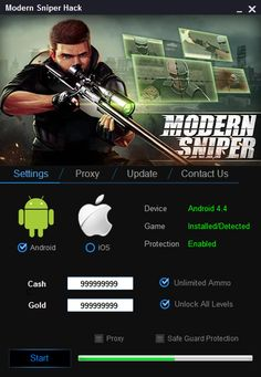 Modern Sniper Hack Android Ios Download 2016 Tools Cheats Sniper Hacks Modern