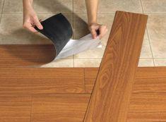 those ugly floors with vinyl plank flooring. Update those ugly floors with vinyl plank flooring. Camper Hacks, Rv Hacks, Caravan Hacks, Caravan Ideas, Campervan Ideas, Rv Campers, Happy Campers, Teardrop Campers, Teardrop Trailer