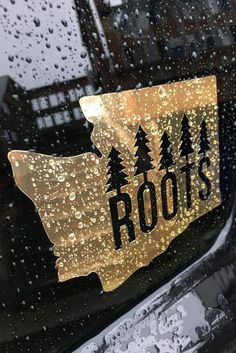 Our most desired design is now available in a gold foil/chrome giving it a unique look unlike any other sticker we've made! U.S.A made with premium quality vinyl giving it a long lasting finish made t