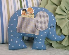 Treasure pillow....can hold a tooth for the tooth fairy.