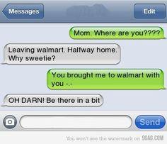 haha mom of the year
