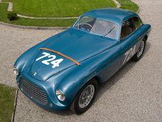 1950 Ferrari 166 MM Touring LM coupé