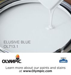 ELUSIVE BLUE OL713.1 is a part of the blues collection by Olympic® Paint.