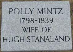 "Mary ""Polly"" Mintz Stanaland"