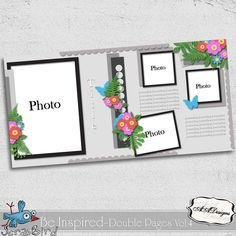 Be Inspired - Double Pages Vol.4 by AADesigns
