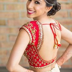 Top 10 Latest Backless Blouse Designs For Sarees & Lehengas Lates. - Top 10 Latest Backless Blouse Designs For Sarees & Lehengas Latest Backless Blouse D - Indian Blouse Designs, Choli Designs, Wedding Saree Blouse Designs, Fancy Blouse Designs, Blouse Neck Designs, Blouse Styles, Lengha Blouse Designs, Back Design Of Blouse, Latest Blouse Designs