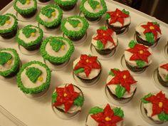 mini christmas cupcakes - Google Search