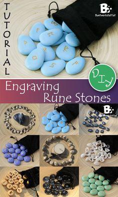 Engraving Rune stones Tutorial http://goo.gl/ZcU7Xj