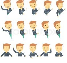 8508522-urban-character-set-in-different-poses-simple-flat-design.jpg (800×759)