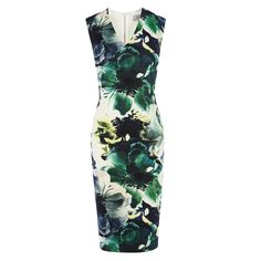 For a twist on the classic shift style, this contemporary printed dress features a subtle V neckline and a cinched in waist. The Rome Print Jagger Dress has a soft yet structured form thanks to the expert fit while the striking print creates a stunning look. This dress closes with a back zip, dress length from side neck point to hem measures 105.5cm/ 42 inches. Height of model shown: 5ft 9inches/175cm. Model wears: UK size 10.