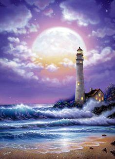 Lighthouse Of Dreams Mural - Steve Sundram| Murals Your Way