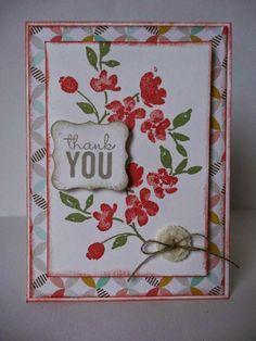 painted petals stamps set | Stampin Up Painted Petals