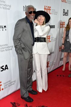 "Morgan Freeman Photos: ""Ruth & Alex"" Premiere - Arrivals - 2014 Toronto International Film Festival"