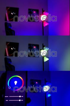 Novostella smart bulbs work with Amazon Alexa and Google Assistant. All available at your fingertips in an easy to use App, or via voice control. Transform a living space in an instant! Create any type of scene that fits your event. Options are limitless. Only $25.99 Now! Smart Lights, Small Rooms, Game Room, Bulbs, Living Spaces, Scene, Indoor, App, Amazon