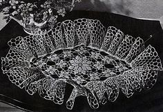 Ravelry: Diamond Setting Doily #CT-229 pattern by The Spool Cotton Company