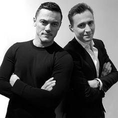 Tom Hiddleston and Luke Evans for Paper Magazine. Source: https://www.instagram.com/p/BJ_GCa3gpXQ/ Full size image: http://maryxglz.tumblr.com/post/150000793057/lolawashere-tom-hiddleston-and-luke-evans-for