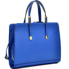 Women High Quality PU Leather Briefcase Laptop Bag Business Bag with Gold Tone in Clothing, Shoes & Accessories, Women's Handbags & Bags, Briefcases & Laptop Bags Briefcase Women, Leather Briefcase, Leather Satchel, Pu Leather, Leather Bags, Shoulder Purse, Shoulder Strap, Laptop Bag For Women, Laptop Bags