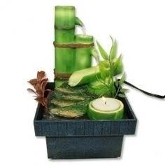 mini bamboo fountain for the guest bathroom