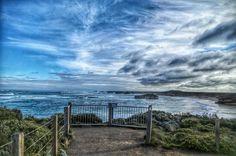 Some spectacular views along the Great Ocean Road #Melbourne #australia #australiagram #victoria #visitaustralia #visitmelbourne #exploremelbourne #greatoceanroad #throwback #lastyear #lategram #ocean #nature #sea #cliff #limestonerocks #portcampbell #apollobay @greatoceanroad #igersmelbourne #melbourneiloveyou #canon #hdr #skylandscape #australiannationalheritage #scenic #placestovisitinvictoria #coastaldrive #touristattraction #missyoumelbourne #lonelyplanet by sush_bala