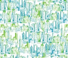 NYC Cityscape by mandakay - Abstract/Geometric