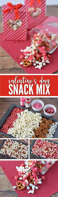 Super Easy Valentines Day Recipe for Kids to make for their Friends! This Valentines Day Snack is also great for Class Parties!