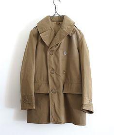 LILY1ST VINTAGE 1940'S BRITISH ROYAL ARMY MACKINAW COAT http://floraison.shop-pro.jp/?pid=84734687