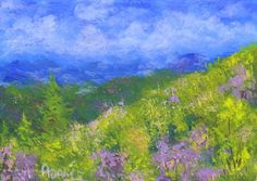 Spring in the Blue Ridge mountains.  You can find my available paintings at: www.bonanza.com/booths/NaturesViews