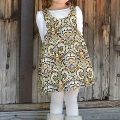 INSTANT DOWNLOAD- Molly Jumper (Sizes 9/12 to 8) PDF Sewing Pattern and Tutorial