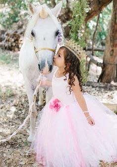 Magical princess party complete with unicorn