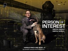 Person Of Interest POI / Harold and Bear by SexiestJoker.deviantart.com on @deviantART