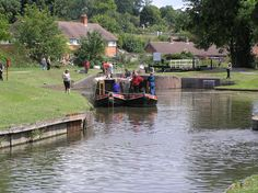 Droitwich Canal - Worcestershire - England