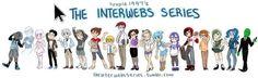 Tumblr interwebs series social media as people