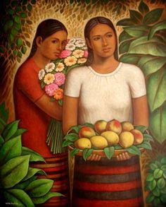 Carlos Orduna Barrera: Dos Mujeres Mexicanas