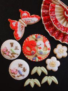 New year cookies in Japan