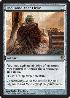 Magic: the Gathering  Thousand-Year Elixir (266/356)  Commander 2013