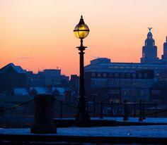 Liverpool City at Dawn