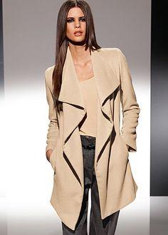 Large collar jacket