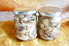 Ciuperci pentru iarna, in ulei sau saramura, reteta simpla, fara conservanti - reteta veche: champignons, ghebe, iutari, galbiori, manatarci, hribi.