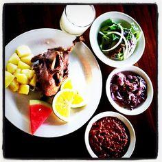 "The ultimate Dirty Duck dinner, ""Bebek Bengil"" in Ubud, Bali"