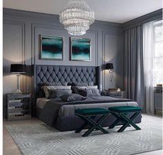modern and simple bedroom design ideas 10 Classic Bedroom Decor, Home Decor Bedroom, Modern Bedroom, Contemporary Bedroom, Bedroom Curtains, Bedroom Black, Bedroom Vintage, Classic Bed Room, Cozy Bedroom