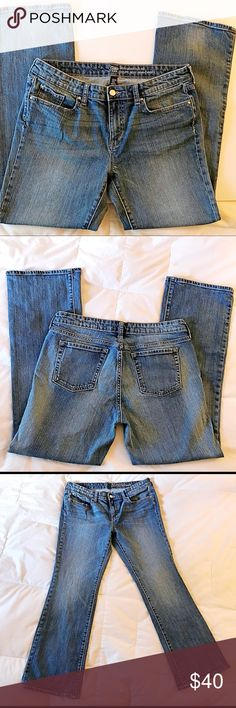 Gap Sexy Bootcut Fit Jeans (10/30) Sexy jeans in good condition - just broken in enough to be comfortable, but not distressed.  Inseam: 29 inches.  Bottom of hem: 9 inches.  Rise: 9 inches. GAP Jeans Boot Cut