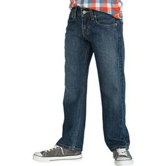 Signature by Levi Strauss & Co. Boys' Relaxed Fit Jeans