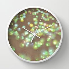 Vintage Confetti 3 Wall Clock by Lisa Argyropoulos Best Wall Clocks, Tic Toc, Cool Walls, Confetti, Lisa, Vintage, Home Decor, Decoration Home, Room Decor