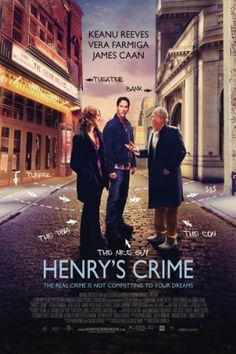 Watch Henry's Crime full hd online Directed by Malcolm Venville. With Keanu Reeves, Vera Farmiga, James Caan, Judy Greer. Released from prison for a crime he didn't commit, an ex-con targets Keanu Reeves, Movie Club, Film Movie, Guy Henry, New Movies Coming Soon, Buffalo, 2011 Movies, True Crime Books, Frames
