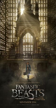 Fantastic Beasts and Where to Find Them - The adventures of writer Newt Scamander in New York's secret community of witches and wizards seventy years before Harry Potter reads his book in school.