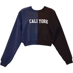 Cynthia Rowley CaliYork Cropped Sweatshirt (3.289.905 VND) ❤ liked on Polyvore featuring tops, hoodies, sweatshirts, cynthia rowley tops, navy crop top, navy sweatshirt, crop top and cropped sweatshirt