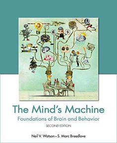 The Mind's Machine: Foundations of Brain and Behavior (Looseleaf), Second Edition #book #health http://www.healthbooksshop.com/the-minds-machine-foundations-of-brain-and-behavior-looseleaf-second-edition/ The aim of this book is to help students understand, right from the opening paragraphs, that their mental lives are the product of observable physical processes occurring inside the complicated object between their ears, the brain.